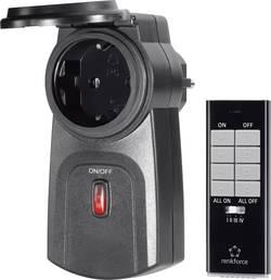 Spínací zásuvka s dálkovým ovladačem Renkforce RS2W, 2dílná, 2000 W