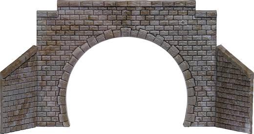 N, TT Tunnel-Portal 2gleisig Fertigmodell Busch 8198