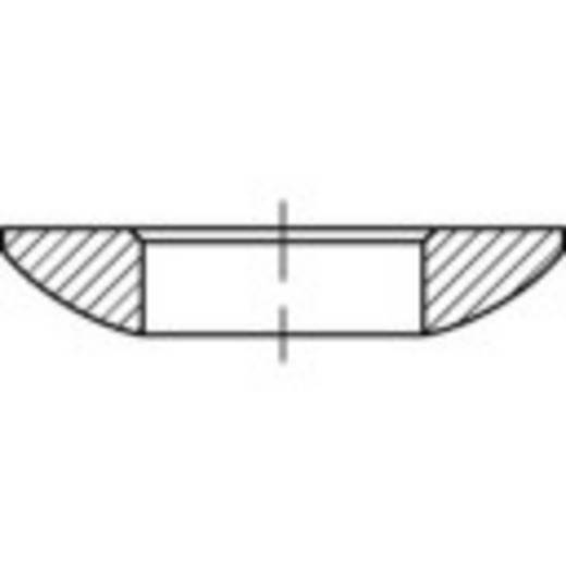 Kugelscheiben Innen-Durchmesser: 17 mm DIN 6319 Stahl 25 St. TOOLCRAFT 137890