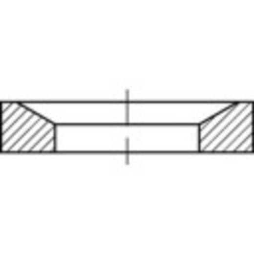 Kugelscheiben Innen-Durchmesser: 28 mm DIN 6319 Stahl galvanisch verzinkt 10 St. TOOLCRAFT 137929