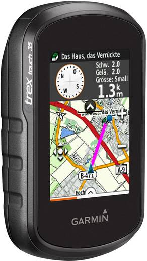garmin etrex touch 35 outdoor navi fahrrad geocaching. Black Bedroom Furniture Sets. Home Design Ideas