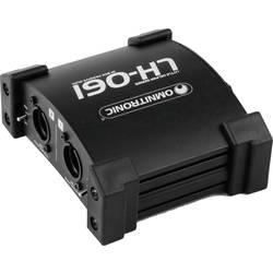 Pasivní DI box Omnitronic LH-061 PRO, 2kanálový