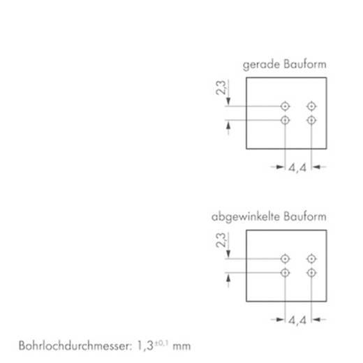Netz-Steckverbinder WINSTA MINI Serie (Netzsteckverbinder) WINSTA MINI Buchse, Einbau horizontal 16 A Blau WAGO 100 St