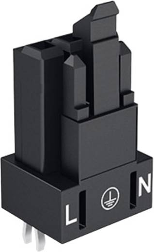 Netz-Steckverbinder WINSTA MINI Serie (Netzsteckverbinder) WINSTA MINI Buchse, Einbau vertikal Gesamtpolzahl: 3 16 A Sch