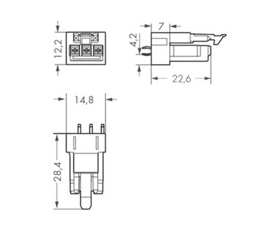 Netz-Steckverbinder WINSTA MINI Serie (Netzsteckverbinder) WINSTA MINI Stecker, Einbau vertikal Gesamtpolzahl: 3 16 A Gr