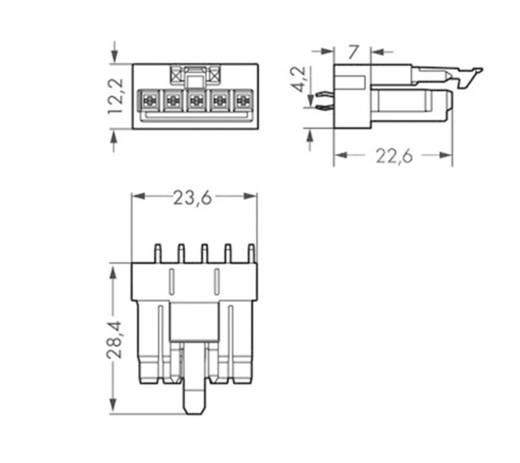 Netz-Steckverbinder WINSTA MINI Serie (Netzsteckverbinder) WINSTA MINI Buchse, Einbau vertikal Gesamtpolzahl: 5 16 A Sch