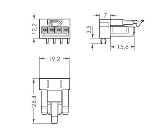 Netz-Steckverbinder WINSTA MINI Serie (Netzsteckverbinder) WINSTA MINI Stecker, Einbau horizontal Gesamtpolzahl: 4 16 A