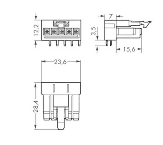 Netz-Steckverbinder WINSTA MINI Serie (Netzsteckverbinder) WINSTA MINI Stecker, Einbau horizontal Gesamtpolzahl: 5 16 A