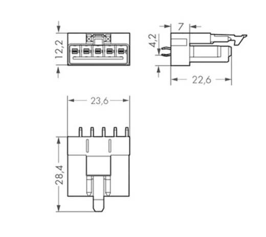 Netz-Steckverbinder WINSTA MINI Serie (Netzsteckverbinder) WINSTA MINI Buchse, Einbau vertikal Gesamtpolzahl: 5 16 A Gra