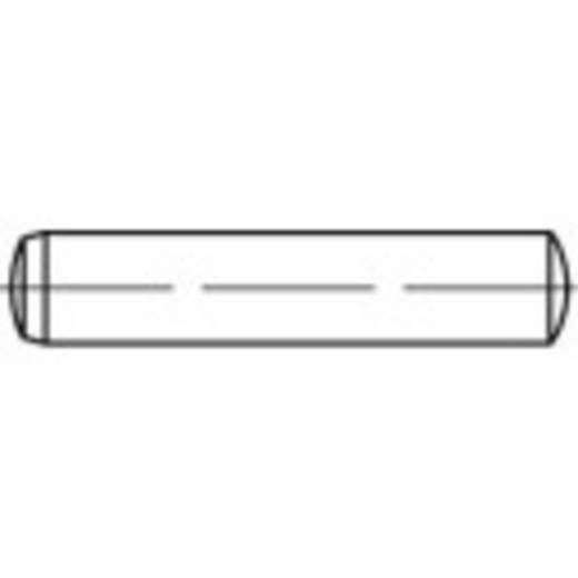 Zylinderstift (Ø x L) 10 mm x 80 mm Stahl TOOLCRAFT 138080 25 St.
