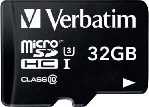 Verbatim PRO microSDHC-Karte 32 GB Class 10, UHS-I, UHS-Class 3 inkl. SD-Adapter