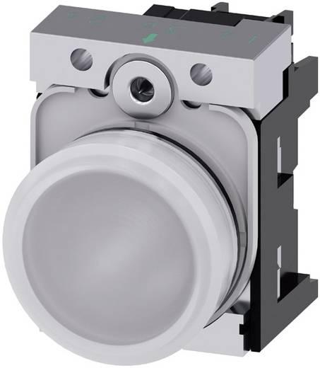 Meldeleuchte Hochglanz Weiß 230 V/AC Siemens SIRIUS ACT 3SU1156-6AA60-1AA0 1 St.