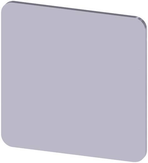Bezeichnungsschild selbstklebend, quadratisch (L x B) 27 mm x 27 mm unbeschriftet Silber Siemens SIRIUS ACT 3SU1900-0AE8