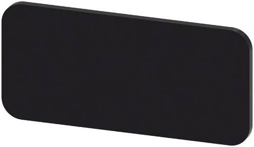 Bezeichnungsschild selbstklebend, quadratisch (L x B) 27 mm x 12.5 mm unbeschriftet Schwarz Siemens SIRIUS ACT 3SU1900-0