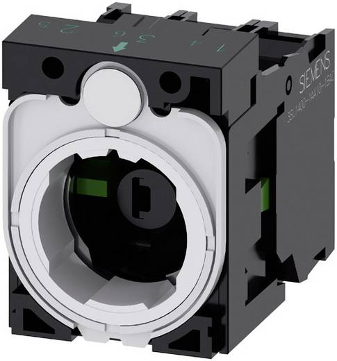 Kontaktelement, LED-Element mit Adapter 2 Schließer Amber 24 V DC/AC Siemens SIRIUS ACT 3SU1501-1AG00-1NA0 1 St.
