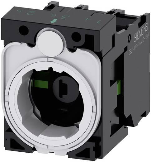 Kontaktelement, LED-Element mit Adapter 2 Schließer Blau 24 V DC/AC Siemens SIRIUS ACT 3SU1501-1AG50-1NA0 1 St.