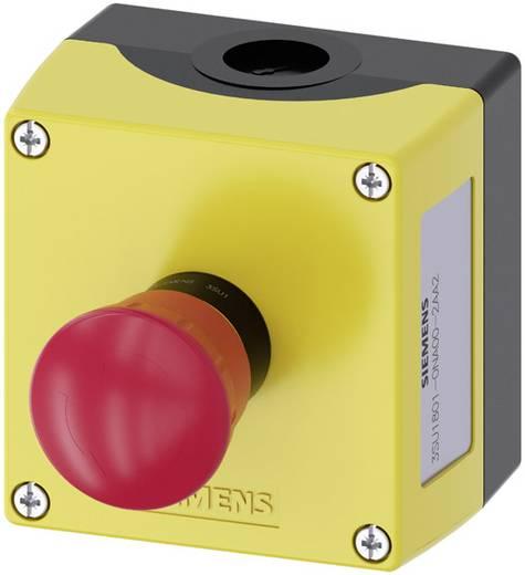 Pilztaster im Gehäuse Gelb Drehentriegelung Siemens SIRIUS ACT 3SU1801-0NA00-2AA2 1 St.