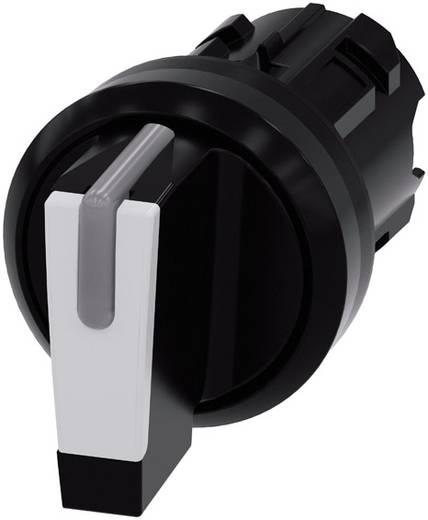 Drehschalter Frontring Kunststoff Schwarz, Weiß 2 x 45 ° Siemens SIRIUS ACT 3SU1002-2BL60-0AA0 1 St.