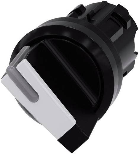 Drehschalter Frontring Kunststoff Schwarz, Weiß 1 x 45 ° Siemens SIRIUS ACT 3SU1002-2BC60-0AA0 1 St.