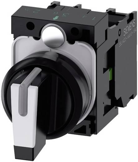 Drehschalter Frontring Kunststoff Schwarz, Weiß 2 x 45 ° Siemens SIRIUS ACT 3SU1100-2BM60-1NA0 1 St.