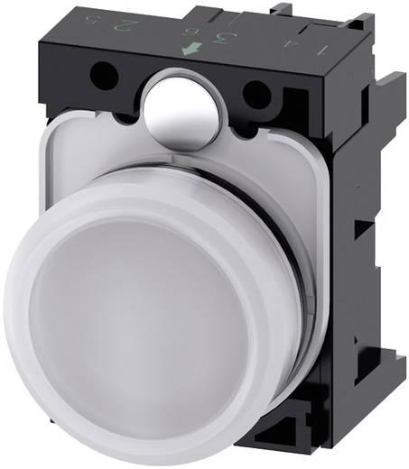 Meldeleuchte flach Weiß 230 V/AC Siemens SIRIUS ACT 3SU1106-6AA60-1AA0 1 St.