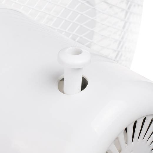 Standventilator Basetech 50 W (L x B x H) 60 x 60 x 120 cm Weiß