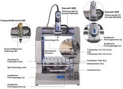 Frézovacia súprava na prestavbu 3D tlačiarne vhodné pre 3D tlačiareň renkforce RF1000