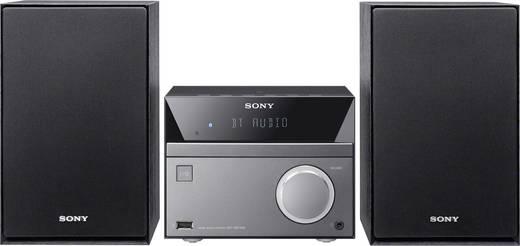 Sony CMT-SBT40D Stereoanlage Bluetooth®, CD, DVD, MW, NFC, UKW, USB, 2 x 25 W Schwarz