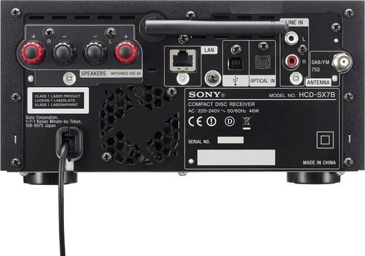 Stereoanlage Sony CMT-SX7B Air-Play, AUX, Bluetooth®, CD ...