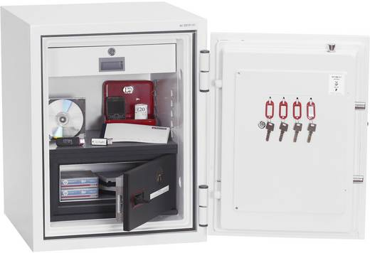Phoenix DS2501F Data Combi Feuerschutztresor wasserabweisend, feuerfest Fingerabdruckschloss