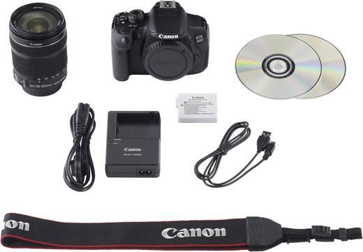 digitale spiegelreflexkamera canon 700d inkl ef s 18 135 mm is stm 18 0 mio pixel schwarz. Black Bedroom Furniture Sets. Home Design Ideas
