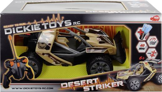 Dickie Toys 201119080 Desert Striker 1:16 RC Einsteiger Modellauto Elektro Buggy Heckantrieb