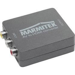 AV konvertor cinch zásuvka ⇔ HDMI zásuvka Marmitek Connect AH31 08264