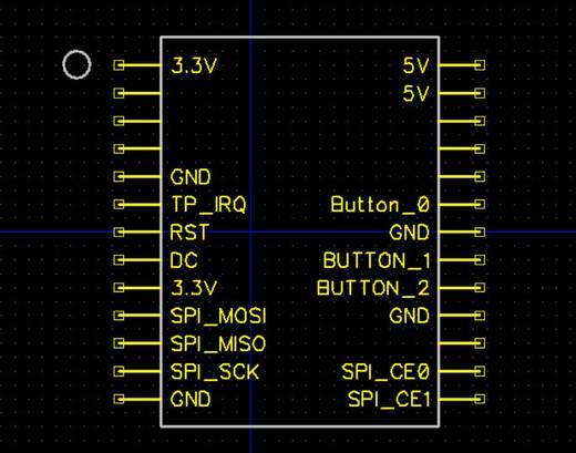 Raspberry Pi® Display-Modul Schwarz RB-TFT3.2-V2 Raspberry Pi® A, B, B+, Raspberry Pi®