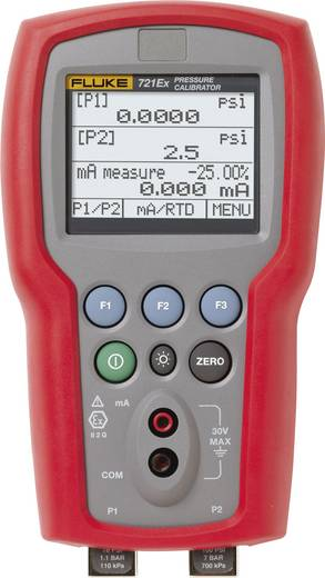 Fluke 721EX-3605 Kalibrator Druck 4x Mignon-Batterie AA (enthalten) Kalibriert nach Werksstandard (ohne Zertifikat)