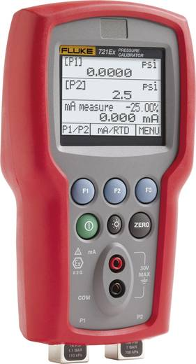Fluke 721EX-1605 Kalibrator Druck 4x Mignon-Batterie AA (enthalten) Kalibriert nach Werksstandard (ohne Zertifikat)