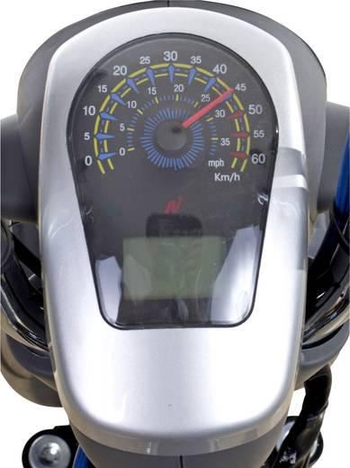 SFM SAXXX Prima-E 20 km/h schwarz E-Roller Silber, Schwarz Li-Ion