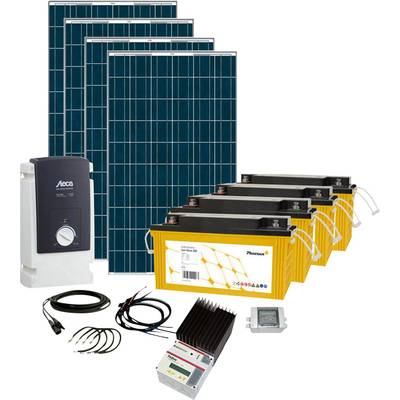 phaesun solar rise seven 600282 solar set 1000 wp inkl. Black Bedroom Furniture Sets. Home Design Ideas