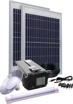 Solární sada osvětlení Phaesun Energy Comfort Solar Side Two 390957, 20 Wp, vč. akumulátoru, v