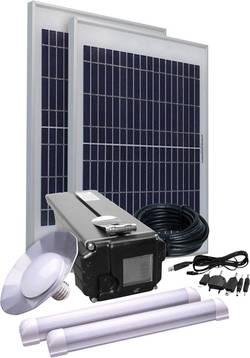 Solární sada Phaesun Energy Comfort Solar Side Three 390958, 30 Wp, vč. akumulátoru, vč. kabelu, s 3 světly