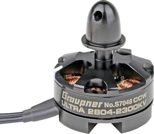 Race Copter Brushless Elektromotor Ultra 2804 Graupner kV (U/min pro Volt): 2300