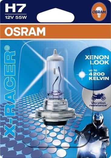 OSRAM Halogen Leuchtmittel X-Racer (Motorrad) H7 55 W