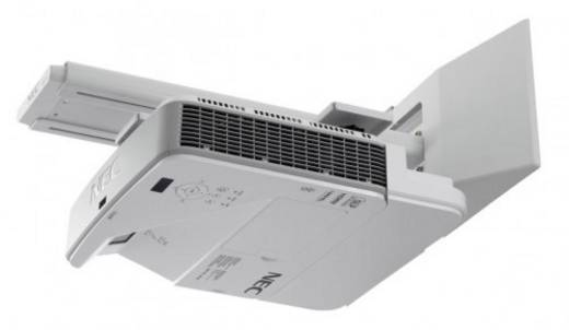 DLP Beamer NEC U321Hi Helligkeit: 3200 lm 1920 x 1080 HDTV 10000 : 1 Weiß