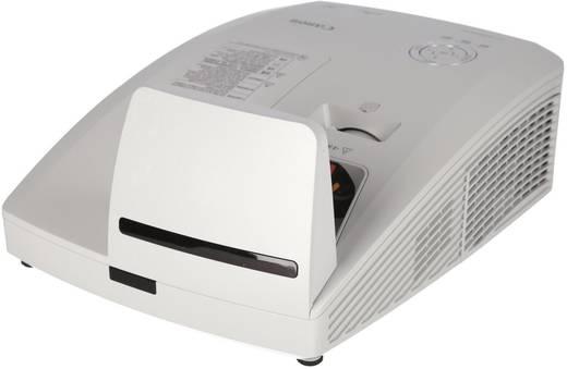 DLP Beamer Canon LV-WX300UST Helligkeit: 3000 lm 1280 x 800 WXGA 2300 : 1 Weiß