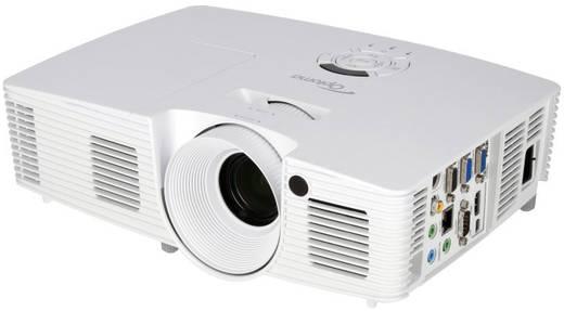 Optoma Beamer W402 DLP Helligkeit: 4500 lm 1280 x 800 WXGA 20000 : 1 Weiß