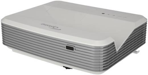 DLP Beamer Optoma X320USTi Helligkeit: 3500 lm 1024 x 768 XGA 20000 : 1 Silber