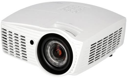 Optoma Beamer EH415ST DLP Helligkeit: 3500 lm 1920 x 1080 HDTV 15000 : 1 Weiß