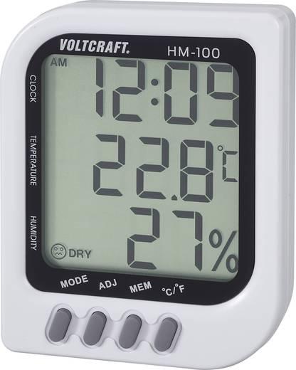 VOLTCRAFT HM-100 Luftfeuchtemessgerät (Hygrometer) 20 % rF 90 % rF Kalibriert nach: Werksstandard (ohne Zertifikat)