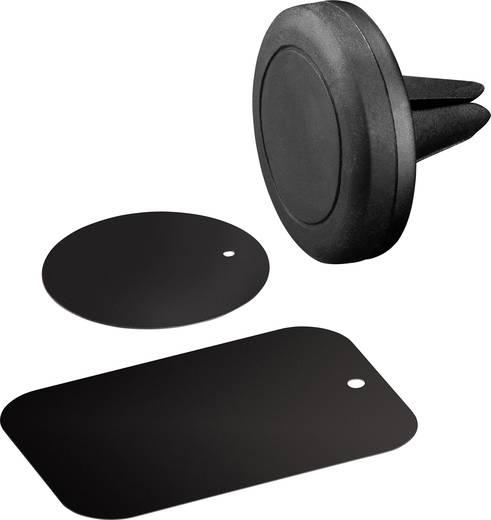 Goobay 47145 Lüftungsgitter Handy-Kfz-Halterung Magnetbefestigung, 360° drehbar 50 - 90 mm