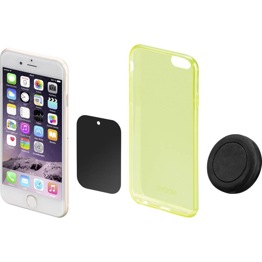 support de t l phone portable pour voiture goobay 47145 fixation magn tique pivotant 360. Black Bedroom Furniture Sets. Home Design Ideas